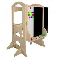This item will NOT go on sale! The new easel everyone is waiting for is here, but quantities are limited! Learning Tower + Learn and Share Easel Combo