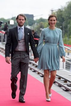Grand Ducal Family of Luxembourg attended National Day Celebrations in Luxembourg.6/23/15: Prince Felix and Princes Claire