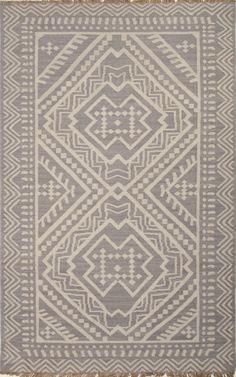 Batik Gray/Ivory Area Rug