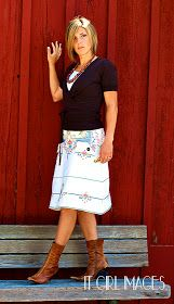 icandy handmade: (giveaway) Sew What! Skirts