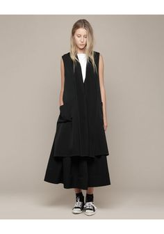 Limi Feu vest. I wouldn't personally wear the skirt but I think it's still really awesome.