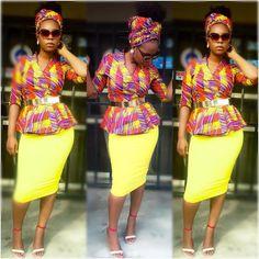 Ankara Styles With Pretty Blooms and Eye-Popping Trends - Wedding Digest NaijaWedding Digest Naija