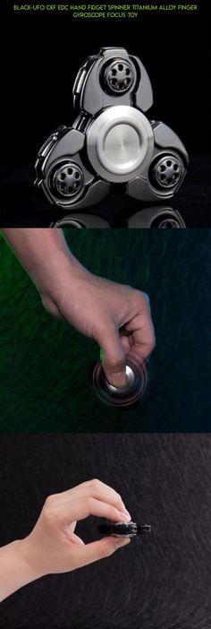 Rainbow Colors Titanium Alloy EDC Hand Fid Spinner High Speed