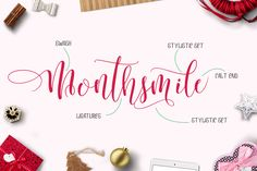 INTRODUCING Mightyheart Font Duo are two of different typefaces caracter, modern and clasik, calligraphy wavy and sans font, which was created to meet the needs of your next design project.