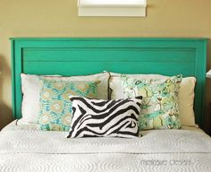 Turquoise Headboard | Do It Yourself Home Projects from Ana White