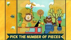 Do your kids love trains? Do your they love zoo animals and puzzles too? Look no further. Train Games for Kids: Zoo Railroad Car Puzzles is a fun animated puzzle game for toddlers, preschoolers, and kids from ages 1 to 6.<p>The app includes twelve different child and toddler friendly, jigsaw-style puzzles with options to change the number of pieces and remove other helpers. The puzzles start off easy to play and get more challenging- perfect for the little one in your life who loves zoo…