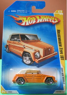 2009 Hot Wheels Volkswagen VW Thing Orange Type 181