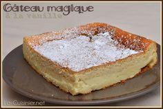 Gâteau magique à la vanille - Le-Cuisinier.net