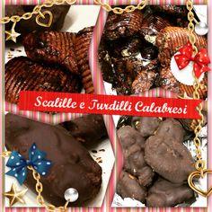 Scalille e Turdilli Calabresi di Natale #natale #natale2017 #turdilli #scalille #calabria #dolcicalabresi #panefocaccia #dolci #festeggiamo #calabresi