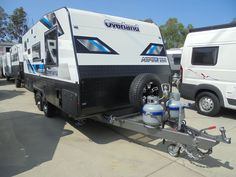 Designed by Gold Coast Caravan Sales and built for Gold Coast Caravan Sales. The Overland range is exceptional value for money. Gold Coast, Caravan, Recreational Vehicles, Touring, Range, Money, Design, Cookers, Silver