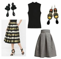 Dressing up to the office holiday party can be tricky, especially when your company comes up with dress codes like 'casual dressy', 'holiday spirit', or 'just have fun with it'. If you're panicking because you have no idea what to wear—don't. We've rounded up outfits ideas that will impress not only your boss but your colleagues and date, too!  #doricsengeri #holidayparty #officeparty #styling #turtleneck #blackearrings #highfashion