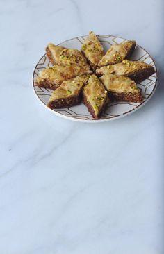 Brown Butter Pistachio Baklava