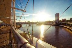 Sunset from Bridge..Brisbane by RAHULw from http://500px.com/photo/194672247 - . More on dokonow.com.