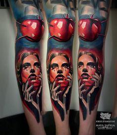 by @maya_sapiga / / . #best #tattoo #tattooartist #tattoosupport #tattooworldpub #like4like #likeforfollow #follow4follow #follow4followback #followbackalways