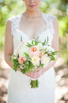 pretty..bridesmaids, looser and more flowing with peach hyp berries