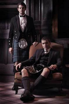 Tailor Made Prince Charlie Package - I already own the traditional look (left), I could maybe look at getting a modern style waistcoat (right) to go with my existing jacket?