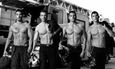 French Firefighters Strip Down For Calendar, Set Internet Ablaze