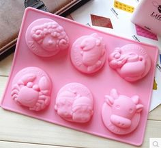 Constellations Zodiac Cake Mold Soap Mold Silicone Mold Soap Mould Biscuit Mold