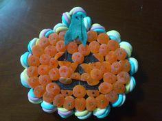 Tarta de chuches de #Halloween
