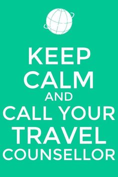 For a no stress holiday call your Travel Counsellor and let them organise everything. Traveling By Yourself, Stress, Let It Be, Phone Wallpapers, Words, Holiday, Inspiration, Biblical Inspiration, Vacations