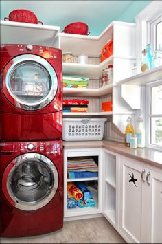 Small Functional Laundry + Mud Room Ideas and Inspiration - DIY Swank