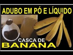 Fertilizer powder and liquid made from banana peel Banana, Fruit Garden, Indoor Plants, Gardening Tips, House Plants, Youtube, Base, Liquid Fertilizer, Growing Plants