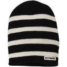 0a3a57a0895 Top Of The World Iowa Hawkeyes Black Backswing Bucket Hat