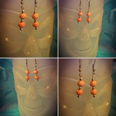 Check out this item in my Etsy shop https://www.etsy.com/listing/460307066/orange-pumpkin-dangle-earrings