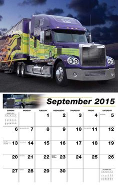 Promo Calendars 2015 - Kings of the Road  Big Rigs, Custom Trucks Calendar - Date Pad  2015 Wall Calendar with large squares for recording appointments and important events  Imprinted with your Business, Organization or Event Name, Logo and Messages low as 65¢  Visit http://www.promocalendarsdirect.com/calendars/kings-of-the-road Today and get yours. — at http://www.promocalendarsdirect.com