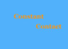 Constant Contact and Google Analytics work well together.  Click the above image to discover how.