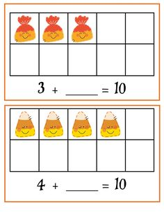 Growing Little Minds: Halloween Math Centers for Common Core