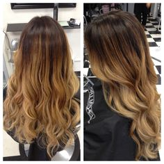 A beautiful Balayabe Ombre highlights by our stylist Corinne! She's available on Wednesdays, Fridays and Sundays. 714-952-2030