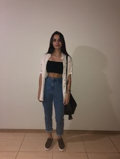 35 Nice and cheap good outfits for school Cute Casual Outfits, Stylish Outfits, Summer Outfits, Jean Outfits, Girl Outfits, Fashion Outfits, School Fashion, Look Chic, Swagg