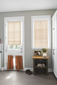 12x24 Mudroom Tiles Contemporary Curtains Interior Smith And Le Roller Shades
