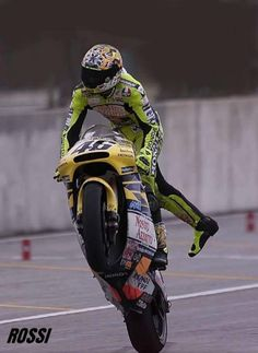 Rossi. 125, 250, 500 champ after 2 years each. Won the last 500 championship & race. Won 1st 990 race & title. Won last race with Honda, won 1st race with Yamaha. 5 titles in a row. 9 in total. Over 100 wins. Champion with 3 different makers. In top 20 sports earners. the season before he went to Yamaha, they had no podiums. He gave then 46 wins. As Burgess said, when Lorenzo has 5 MotoGP titles then we can start to talk about greatness.