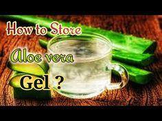 How to Cut and Store Aloe Vera ? How to Prepare Aloe vera Juice ? Witch Hazel, Healthy Skin Care, Aloe Vera Gel, Diy Skin Care, Tea Tree Oil, Castor Oil, Coconut Oil, Organize, Cleaning