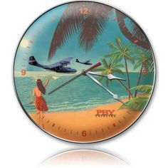 Vintage PBY Aloha Wall Clock, $58.97 (http://www.jackandfriends.com/vintage-pby-aloha-wall-clock/)
