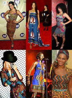 More amazing fashion made from kanga!