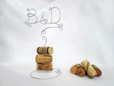 Vineyard Wedding Cake Topper with Your Initials - for the Wine Lovers - Vineyard Wedding, Rustic Wedding, Country Wedding