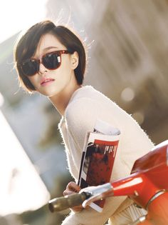 Ga-in | Brown Eyed Girls Harper's BAZAAR Korea, April 2012 issue