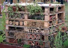 Bug Hotel - made of pallets