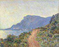 La Corniche near Monaco, Claude Monet, 1884  O site do museu é incrível!