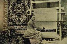 Carpet factory in Kharpert Armenian Culture, Rugs On Carpet, Carpets, Armenian People, Carpet Runner, Silk Road, Ottoman Empire, Living Room Carpet, Textiles