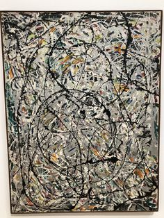 Jackson Pollock  - Watery Paths