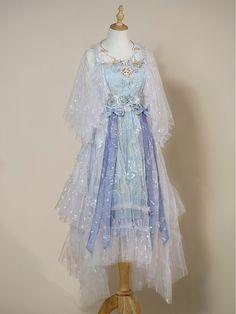Pretty Outfits, Pretty Dresses, Beautiful Dresses, Kawaii Dress, Kawaii Clothes, Cosplay Dress, Cosplay Outfits, Old Fashion Dresses, Fashion Outfits