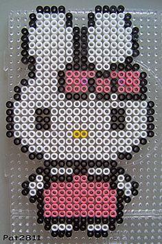 Cathy Hello Kitty Bügelperlen hama perler beads