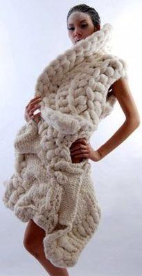 Johan Ku amazing #knit