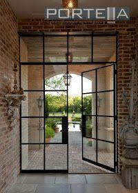 Portella Projects: Steel Doors Update Dallas Home