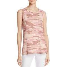 Current/Elliott The Muscle Camo Tee ($63) ❤ liked on Polyvore featuring tops, t-shirts, light rose dust camo, denim top, camo t shirt, rose t shirt, pink t shirt and pink camo t shirts