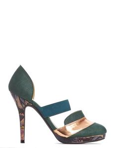 a9fdbcca0b55b0 Arden Wohl x CDC Patmore D orsay Stiletto - Forest - was  280 Hot Vegan